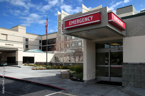 emergency room at the hospital - 462543