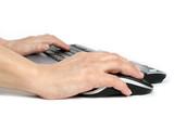 typing poster
