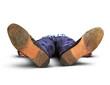fainted man