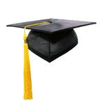 graduation cap and tassle poster