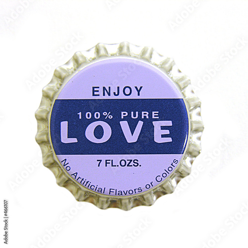 love bottlecap