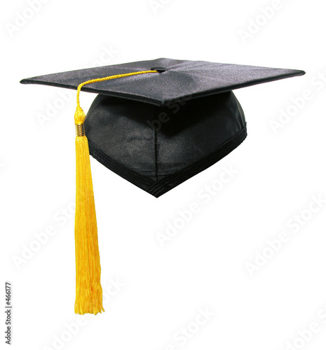 canvas print picture graduation cap and tassle