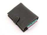 wallet with credit card inside poster
