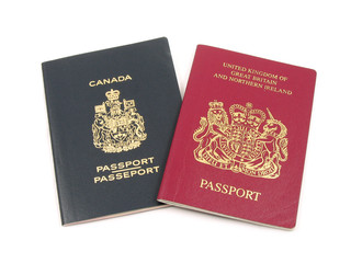british and canadian passport