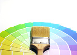 paint swatches poster