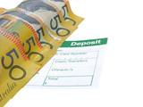 money deposit poster