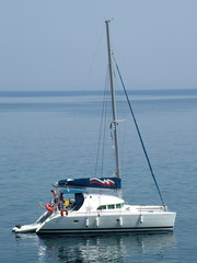 catamaran in greece