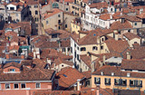 venice roofs poster