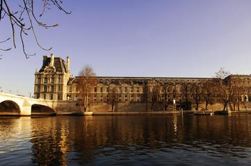 france, paris: louvre museum