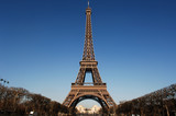 france, paris:  eiffel tower poster