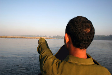 canoe tour - nepal