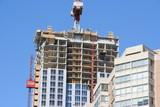 construction condominium apartment building poster