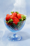 strawberry still life poster