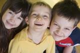smiling children poster