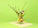 easter bouquet poster