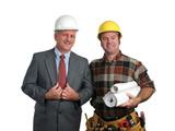 engineer & contractor poster