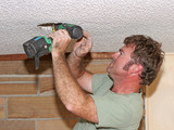 electrician drilling poster