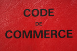 code du commerce poster