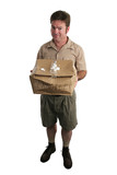 apologetic delivery man poster