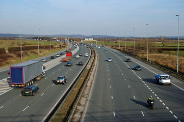 motorway by day