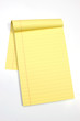 blank yellow pages vertical