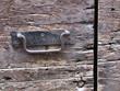 rusty steel door handle