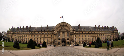 france, paris: les invalides hotel