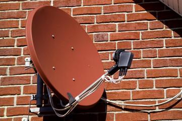 satellit auf empfang