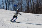 Fototapeta ski 022 downhill