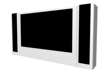 wide screen tv set