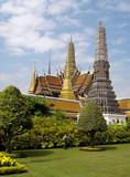 bangkok - grand palace poster