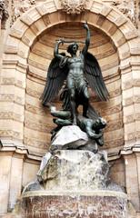 france, paris: saint michel