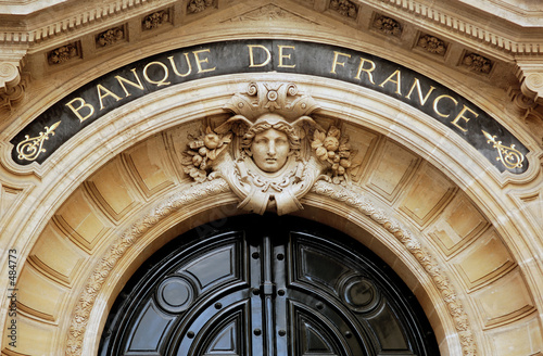 france, paris: banque de france