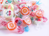 colorful candy poster