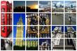 fabulous london collage