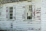 white washed home poster