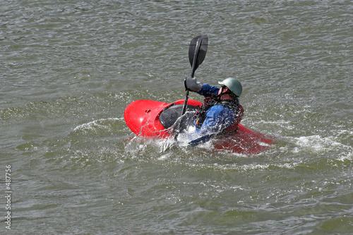 poster of kayaking 5