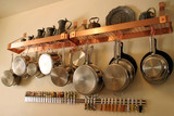 hanging pots and pans 1