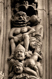 stone statues poster
