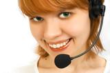 girl operator poster