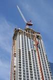 apartment building construction poster