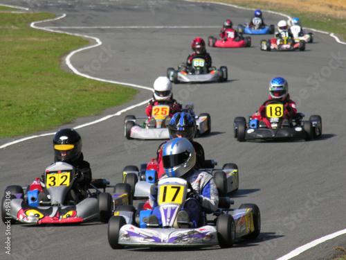 Papiers peints Motorise go kart race