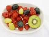 mixed fruits poster