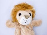 lion puppet poster