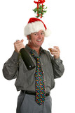 christmas party guy poster
