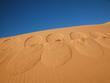 Leinwandbild Motiv footprints