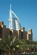 Quadro madinah jumeirah in front of burj el arab