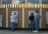 automated movie tickets poster