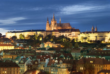 Prague com as Cityscape