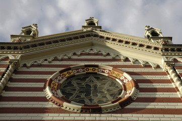 detail of church of maria del carmen